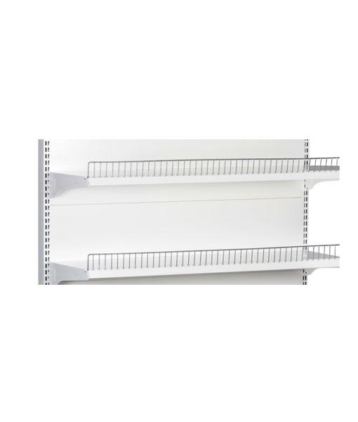 double-sided-medium-duty-flat-white-gondola-retail-display-shop-shelving-1200mm-width-bay-run