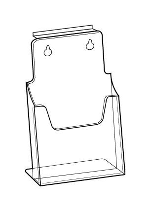 1.3 A4 leaflet-holder-dslatwall