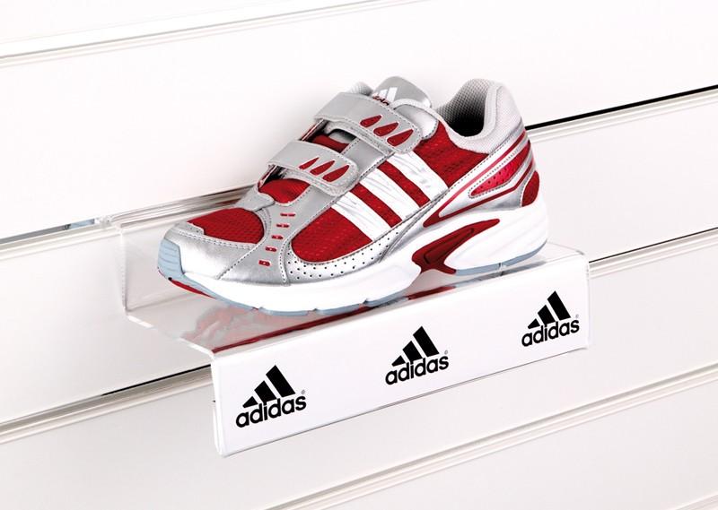 Slat Panel Acrylic Shoe Holder - Adidas -