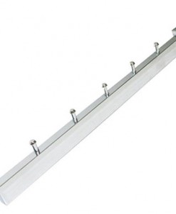 CHROME-5-PIN-SLOPED-ARM-FOR-RECTANGULAR-PIPE---35cm