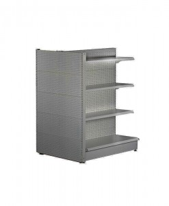 Gondolo-shelving-hammertone-Pegboard-Feature-End-Side