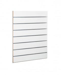 MDF SLAT WALL PANEL white